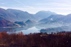 lago del turano inverno