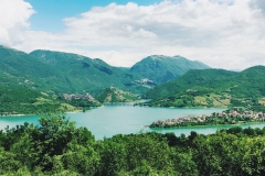 lago del turano estate