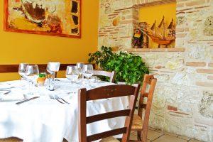 foto sala ristorante c'era una volta lago del turano 5