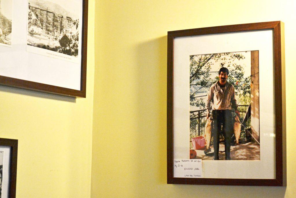 """Guido, figlio di Renato, ora gestore del ristorante pizzeria """"C'era una volta"""" a Colle di Tora sul lago del Turano"""